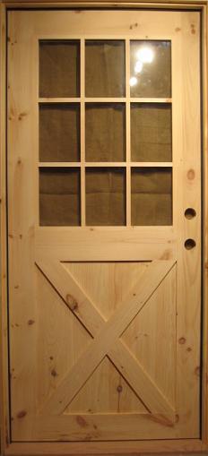 Exterior Wood Door