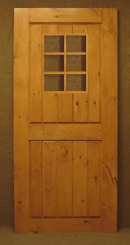Exterior Pine Door