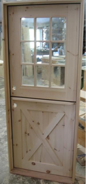 Adirondack naturals dutch doors for 9 lite crossbuck exterior door
