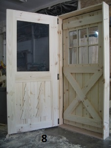 Exterior Door With Screen Door